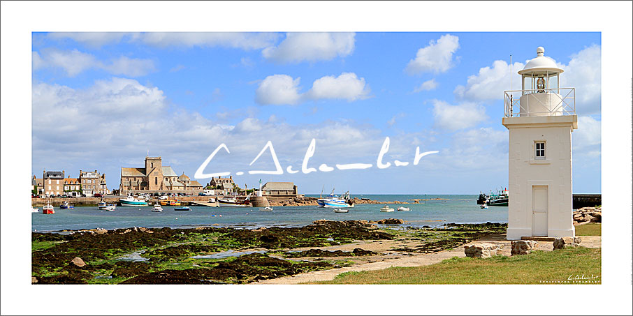 Poster Photo Barfleur - Normandie - France - Christophe Schambert