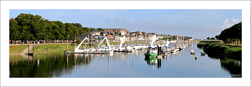 Photo Saint-Valery-sur-Somme - Baie de Somme - France - Christophe Schambert