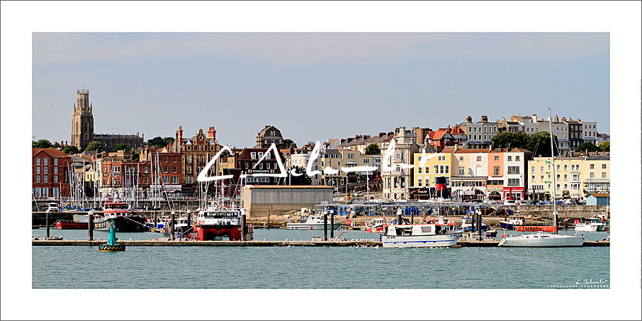Poster Art Photo Ramsgate Harbour - Kent - British Coast - Cote Anglaise - Image Christophe Schambert
