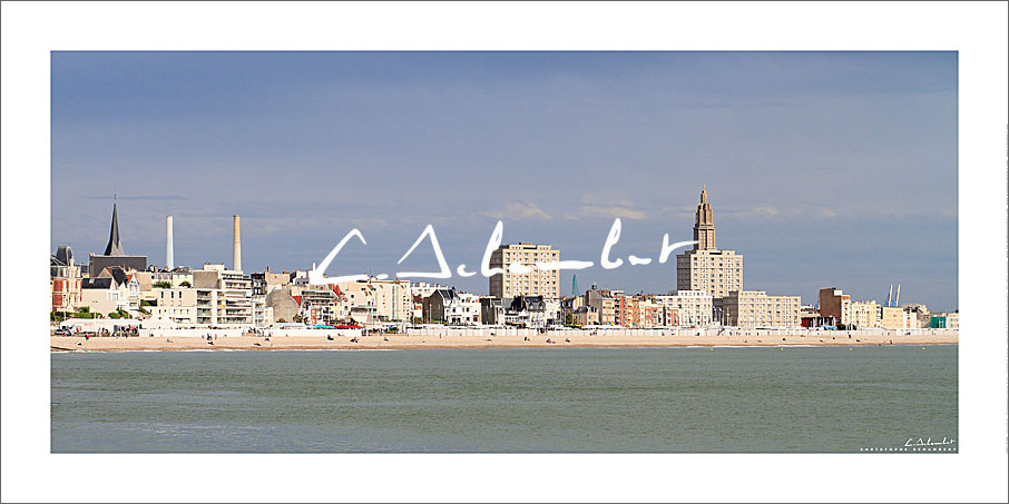Poster Photo Le Havre - Normandie - France - Christophe Schambert