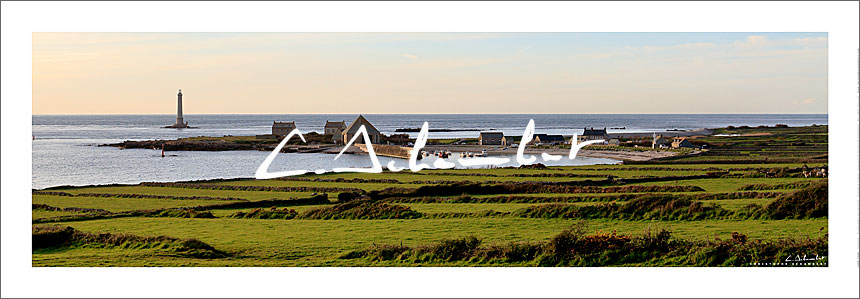 Poster Photo panoramique Port de Goury - Cap de la Hague - Image de la Côte Normande - Normandie - Christophe Schambert