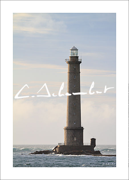 Poster Photo Phare de la Hague - Cotentin - Image de la Côte Normande - Normandie - Christophe Schambert