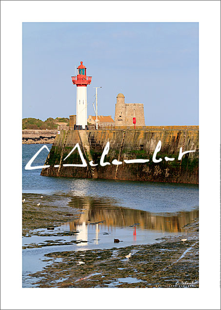Poster Photo Saint-Vaast-la-Hougue - Normandie - France - Christophe Schambert